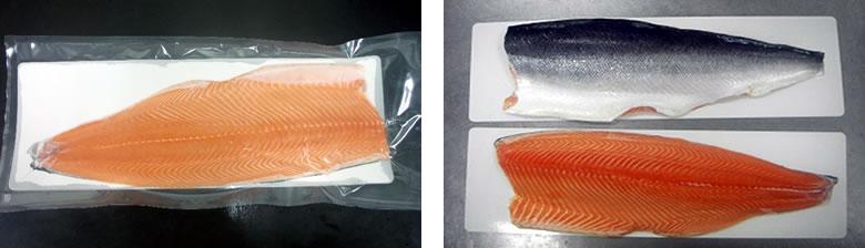 泉佐野市のサーモン食品加工製品